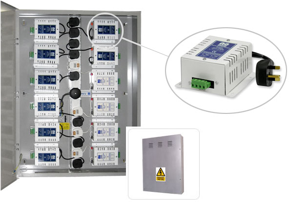 NG Systems - PowerBase12 - CCTV Power Supply Cabinet